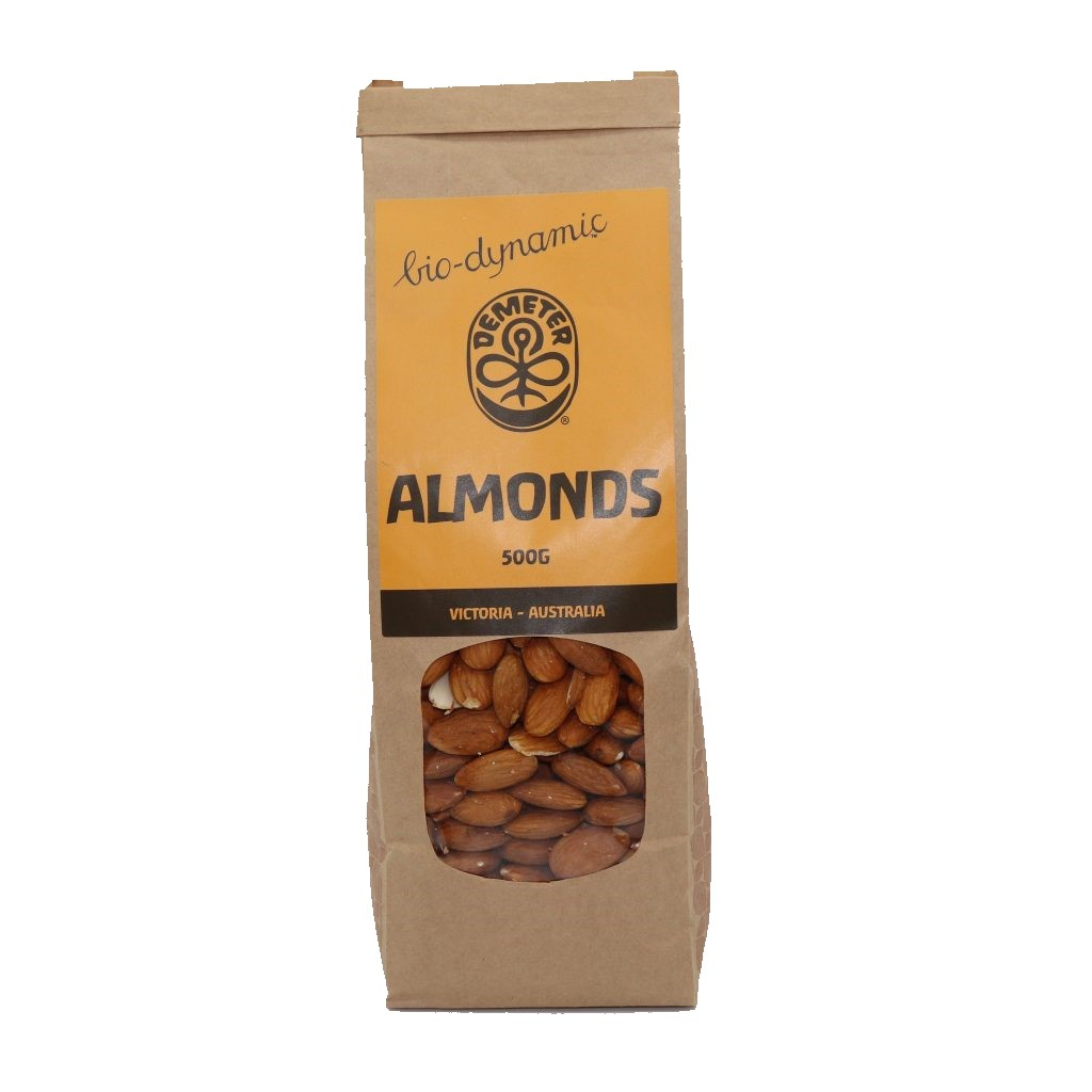 Manna Farms Biodynamic Raw Almonds