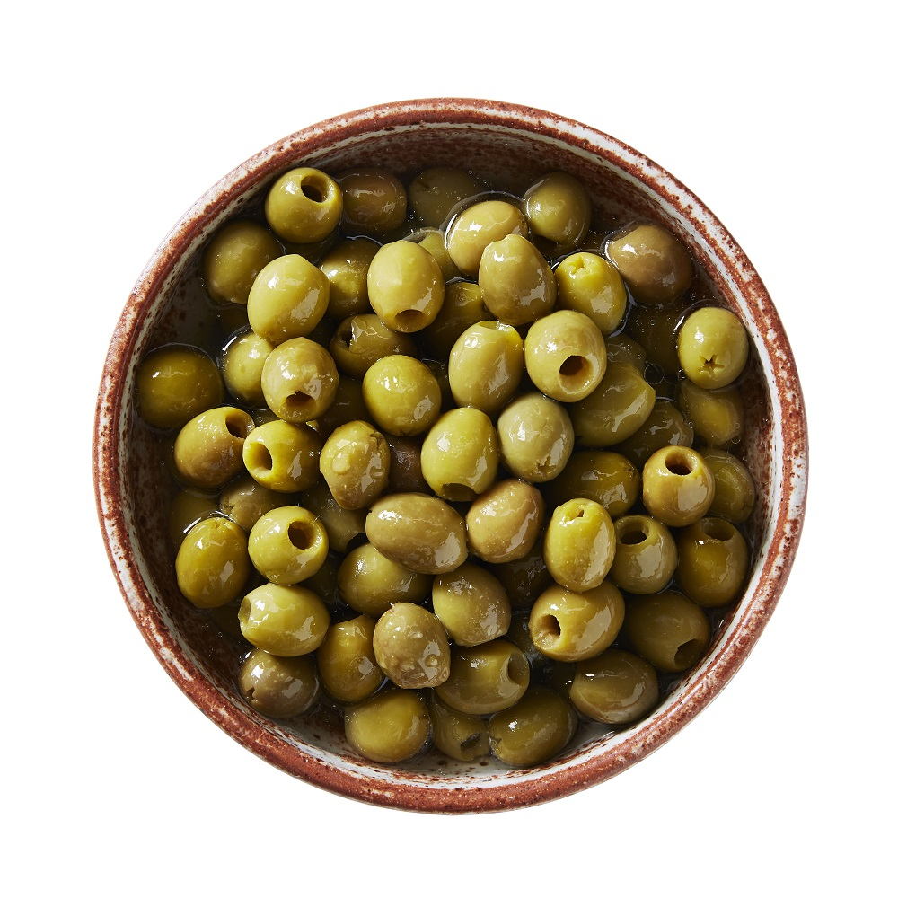 Pitted Green Hardy's Mammoth Olives
