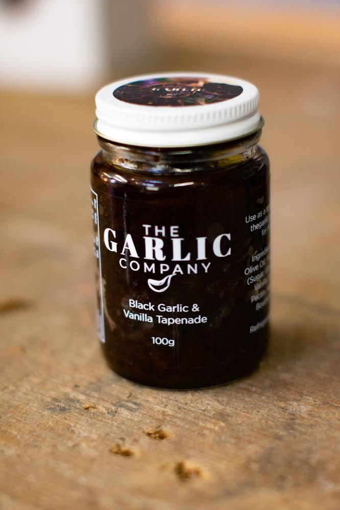 The Garlic Company Black Garlic & Vanilla Tapenade 100g