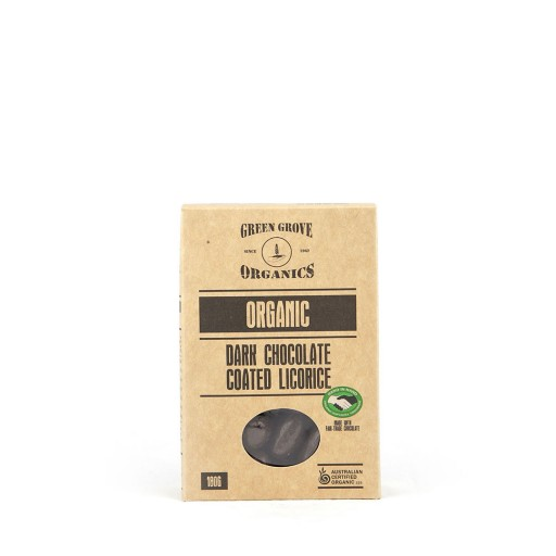 Green Grove Organic Dark Chocolate Licorice