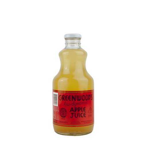 Greenwood Orchards Biodynamic Apple Juice