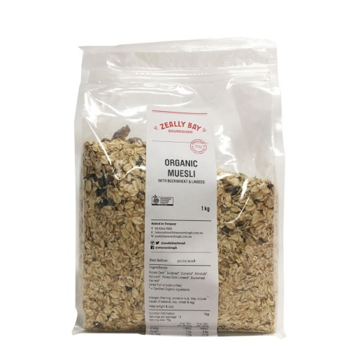 Zeally Bay Organic Muesli