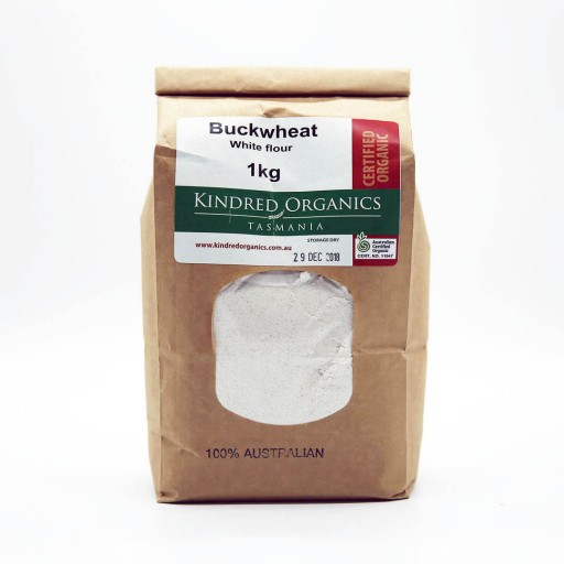Kindred Organics Buckwheat Flour White