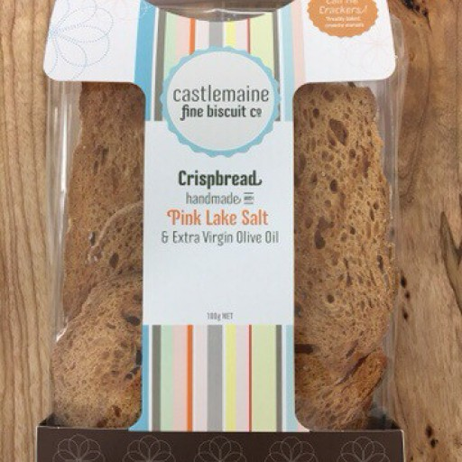Michel's Fine Biscuit Co. - Crisp Bread with MZ Pink Lake Salt