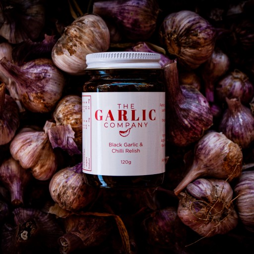 The Garlic Company; Black Garlic & Chilli Relish