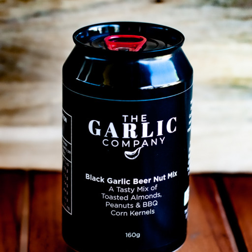 Black Garlic Beer Nut Mix