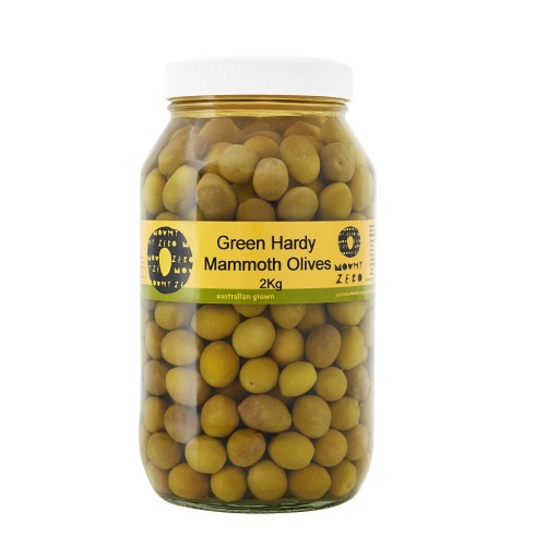 Green Hardy's Mammoth Olives