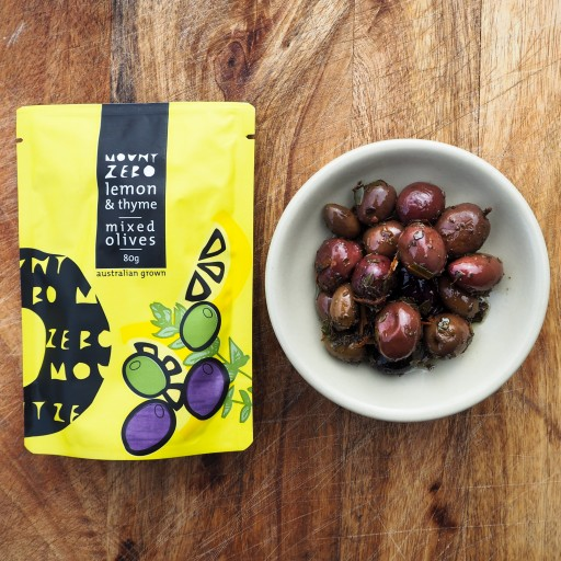 Citrus & Thyme Marinated Mixed Olives