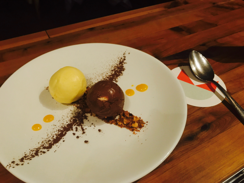 Semifreddo chocolate and olive oil with mandarin mount zero olives i find using olive oil in a semifreddo dish offers a velvety texture and plays lovely games with your taste buds the mandarin brings the dish back into sciox Gallery